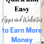 Quick and easy ways to earn more money with cash back apps and websites. Save more money fast. Click here to find out what apps have helped me earn nearly $400 cash back.