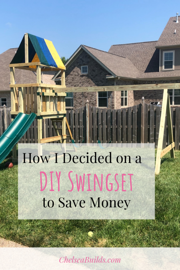 Ever heard of a DIY swingset kit? break down the pros and cons of a DIY swingset build plus why I ultimately chose the DIY route to save money.