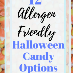 Click here for 12 allergen free Halloween candy options for kids with food allergies and sensitivities. #glutenfree #dairyfree #peanutfree #soyfree #eggfree #organic