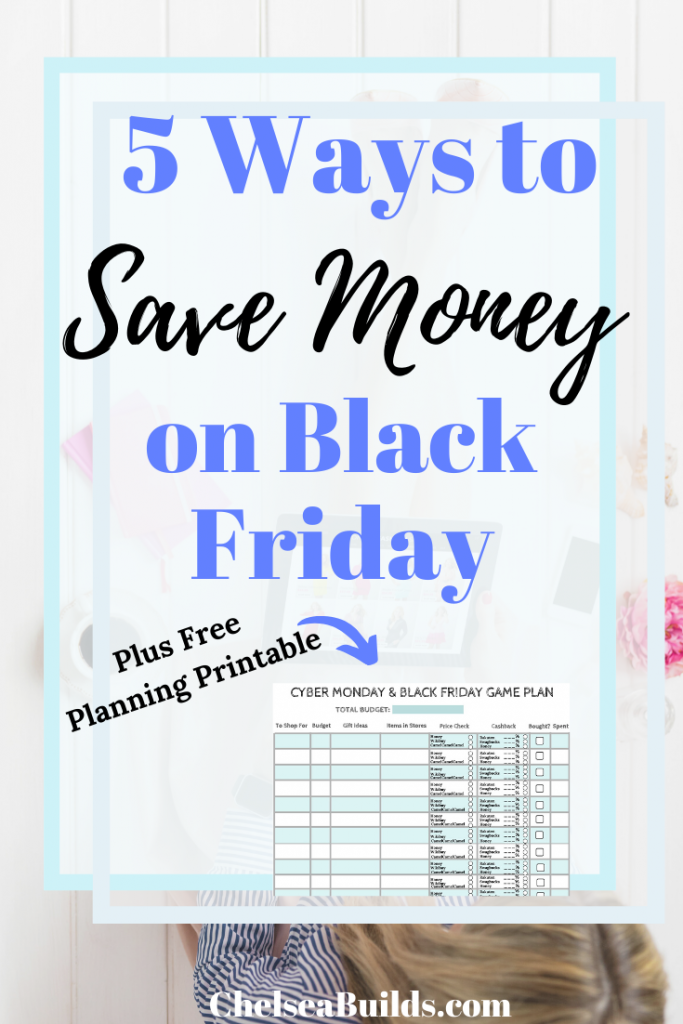 These 5 tips will help you rock those Cyber Monday and Black Friday deals and save more money this holiday season. #savemoney #BlackFriday #BlackFridaydeals #CyberMonday #CyberMondaydeals